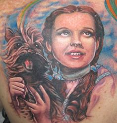 Dorothy and Toto tattoo