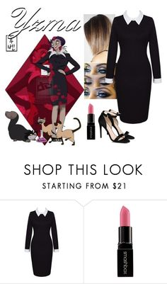 """Disney Gone College - YZMA"" by blackest-raven ❤ liked on Polyvore featuring Disney, WithChic, Smashbox and STELLA McCARTNEY"
