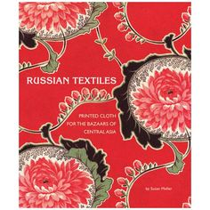 Russian Textiles showcases the gorgeous printed-cotton textiles created and manufactured in Russia and exported to Central Asia from approximately 1860 to 1960. More than 175 spectacular patterns spanning a variety of periods and styles, from Art Nouveau florals to Soviet-era agitprop, are featured. The people in these Central Asian countries including Uzbeks, Tadjiks, and Turkmen incorporated the brightly patterned material into their clothing, particularly their robes, and in their ...