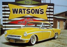Image Detail for - Studebaker, custom car, yellow pearl, larry watson, custom studebaker ...