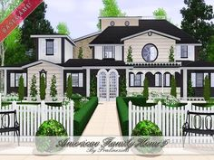 American Family Home 5 by Pralinesims - Sims 3 Downloads CC Caboodle