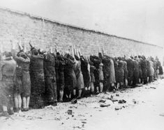Nazis – presented as evidence during the Nuremberg Trials, 1945/6 Evidence of the execution of Jews by Nazis
