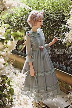 UPDATE: ThinkFly ★~Fond Memories of Autumn~★ Lolita OP Dress is now available >>> http://www.my-lolita-dress.com/thinkfly-fond-memories-of-autumn-lolita-op-dress-tf-7 (Save 13USD During the Pre-order)