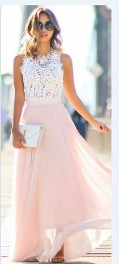 Lace & Locks Pink Maxi Skirt Fall Inspo - dresses for women, dresses summer, cheap summer dresses *ad Pretty Dresses, Beautiful Dresses, Gorgeous Dress, Simple Dresses, Elegant Dresses, Casual Dresses, Maxi Skirt Fall, Maxi Skirts, Maxi Dresses