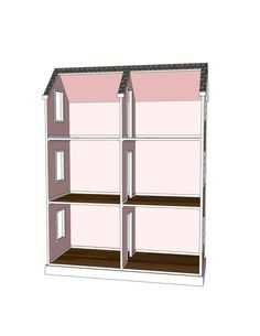 Doll House Plans for American Girl or 18 inch by addielillian, $9.95