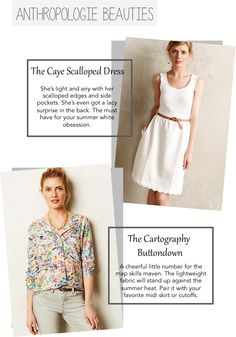 An Anthropologie Summer. My ultimate favorites.