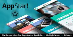 http://picxania.com/wp-content/uploads/2017/08/appstar-one-page-portfolio-app-landing.jpg - http://picxania.com/appstar-one-page-portfolio-app-landing/ - AppStar - One Page Portfolio & App Landing -   Welcome to AppStar, a super easy to setup one page layout for you mobile app or portfolio site. The sexy clean & flat design allows your app or portfolio to be the real star! With 6 color styles and a ton of options you'll have your one page site online in no time! And