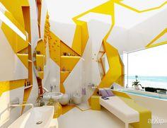Оазис в песчаную бурю, Brani & Desi (Брани & Деси): интерьер, квартира, дом, санузел, ванная, туалет, современный, модернизм, 10 - 20 м2 #interiordesign #apartment #house #wc #bathroom #toilet #modern #10_20m2
