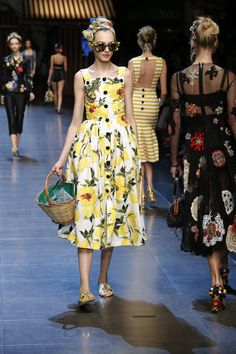 Summer 2016 Fashion Show: Fun Flower and Fruit