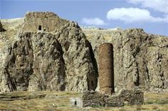 The stone tombs of Urartu kings, one of the most important monuments from the Urartu period