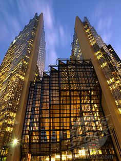Royal Bank of Canada, Toronto (Glass is completely covered in gold)