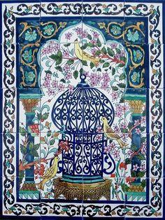 11 Best Tunisian Murals Tiles Images Tiles Tiling Bathroom
