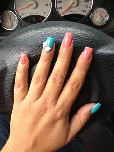 Love the shape of her nails