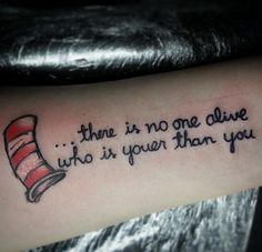 dr seuss tattoo - Google Search