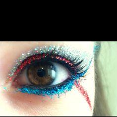 My old Cheer Makeup!!:)
