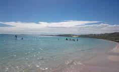 Praia de Coral Bay e recife Ningaloo