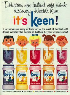 It's Keen!  #ad #vintage