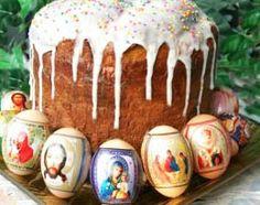 Kulich (Easter Bread) - Russia