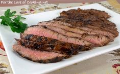 Balsamic and Dijon Marinated Flank Steak - For the Love of Cooking