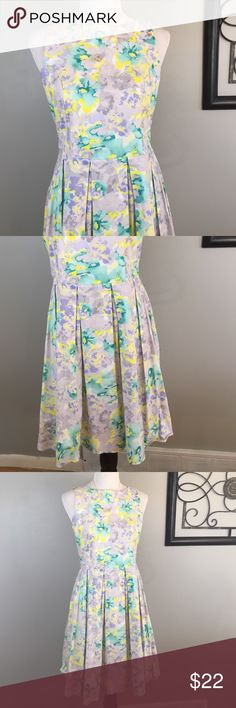 """Maurices Floral Formal Dress Dress: GUC - Maurices / under arm to arm: 17"""" L: 37"""" - NOTE: There is an issue with the Zipper on the bottom of the dress it is ok to still put on but you have to pull down and up on the Zipper at the same time and be careful not to break it more, gorgeous Dress!! price reflects Maurices Dresses"""
