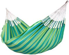 Camping Hammocks - Pin It :-) Follow US :-)) zCamping.com is your Camping Product Gallery ;) CLICK IMAGE TWICE for Pricing and Info :) SEE A LARGER SELECTION of camping hammocks at http://zcamping.com/category/camping-categories/camping-furniture/camping-hammocks-camping-furniture/ - hunting, camping, hammocks, camping gear, camping accessories -   La Siesta Carolina Double Hammock plus green « zCamping.com