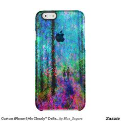 Custom iPhone 6/6s Clearly™ Deflector - Blue Woods Uncommon Clearly™ Deflector iPhone 6 Case