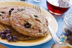 Vegan Blueberry Pancakes   1 Guiding Star