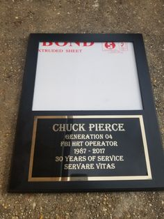 We have the most competitive prices for Picture Plaques online. Design & Engraving included in price. Award Plaques, Picture Engraving, Plastic Windows, Cherry Finish, Team Photos, Retirement Gifts, 30 Years, Letter Board, Picture Frames