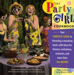 $4.97 The Party Girl Cookbook #TeamSellIt