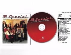 The Best of 38 SPECIAL 77-88 Cd Compact Disc W/ JukeBox Title Page Free S/H USA