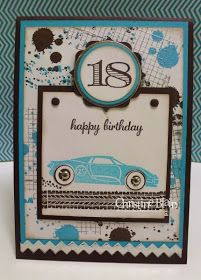 HAPPY HEART CARDS: STAMPIN' UP!'S REV UP THE FUN : JACK IS 18!!