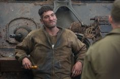 We sat down with The Walking Dead star Jon Bernthal on turning savage in the new World War 2 drama, Fury. Jon Bernthal Fury, Jon Bernthal Punisher, John Bernthal, The Punisher 2017, Punisher Marvel, Shane Twd, Fury Quotes, See Yourself, Fury 2014