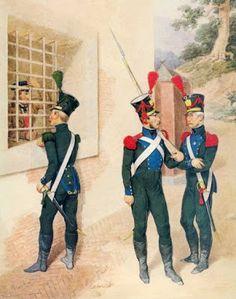 Guardie provinciali del 3 distretto militare