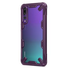 Keep your Huawei P20 Pro protected from bumps and drops with the Rearth Ringke Fusion X tough case in lilac. Featuring a 2-part, Polycarbonate design, this case lives up to military drop test standards so you can rest assured that your device is safe. - Rearth Ringke Fusion X Huawei P20 Pro Tough Case - Lilac Purple