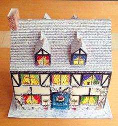 ヨーロッパでは習慣のアドベントカレンダー。12/1〜24までしようする。もちろんつかわない家庭もありますが。。我が家でも使っています。24個の窓を毎日開けるとお菓子などが入っている
