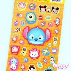 Tsum Tsum Puffy Stickers - Stitch
