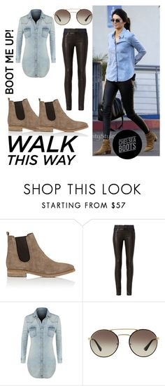 """""""The Style: Chelsea Boots"""" by breestreet ❤ liked on Polyvore featuring Barneys New York, rag & bone, LE3NO and Prada"""