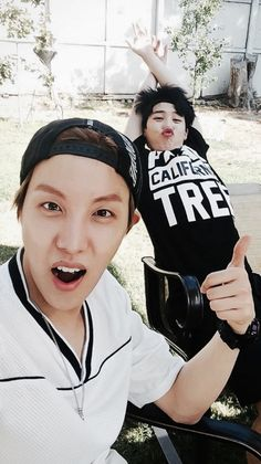 BTS J-Hope and Jimin