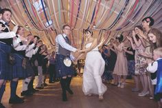 Host a huge ceilidh for friends and family - who's coming?