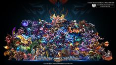 Wallpaper Mobile Legend HD All Hero by FachriFHR