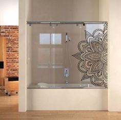 vinilos decorativos esmerilados mamparas mandalas baños !!