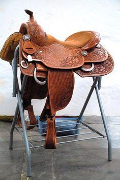 Bobs Custom Saddles Reining Saddle I wish I could afford a Bobs! Western Tack, Western Saddles, Horse Saddles, Barn Boots, Barrel Racing Tack, Cowboy Gear, Rodeo Life, Horse Gear, Horse Ranch
