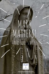 Whether you call her Virgin Mary, The Blessed Mother, Our Lady of Peace, Our Lady of Hope, Ark of the Covenant, Virgin of Virgins, Mother of Mothers, The Immaculate Heart, or anything else- Mary ma…