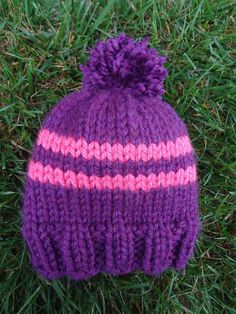 Free Knitting Pattern! Preschooler Rugby Hat