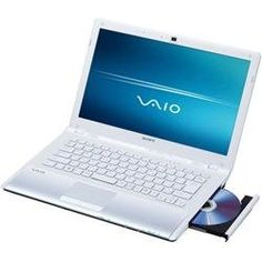 Sony VAIO CW Series VPC-CW17FX/W - Core 2 Duo- 14- Inch Widescreen TFT 1366 x 768 ( WXGA ) - camera - icy white... Cheap Windows, Best Windows, Touch Screen Laptop, Cw Series, Dell Laptops, Product Information, Sony, Cyber Monday, Gadget