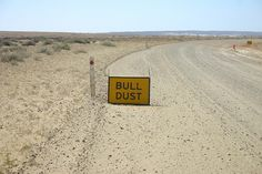 Warning sign outside of Roxby Downs, SA by edwar64896, via Flickr