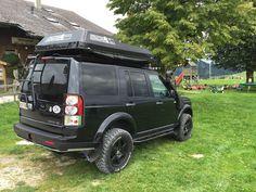 Heckleiter am Discovery 4, sehr gut zum Aufstieg geeignet Land Rover Discovery Off Road, E90 335i, Offroader, Best Suv, Expedition Vehicle, Truck Camper, Land Rover Defender, Range Rover, Dream Cars