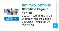 B2G1 FREE Stonyfield Yogurt ($4.39 Value) – Local Penny Pincher