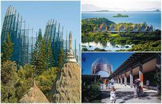 Centro cultural em ilha do Pacífico é um clássico da arquitetura sustentável