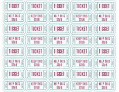Free Raffle Ticket Template | Free Printable Raffle Tickets Free Printable Raffle Ticket